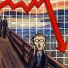 Le cri de la finance (d'après Munch)